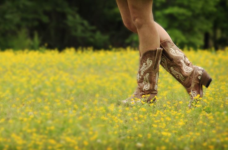 country, flowers, flower, yellow, boots, cowboy, cowgirl, cowboy boots, beauty, fashion