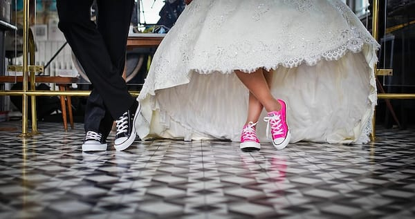 relationships, wedding, converse, sneakers
