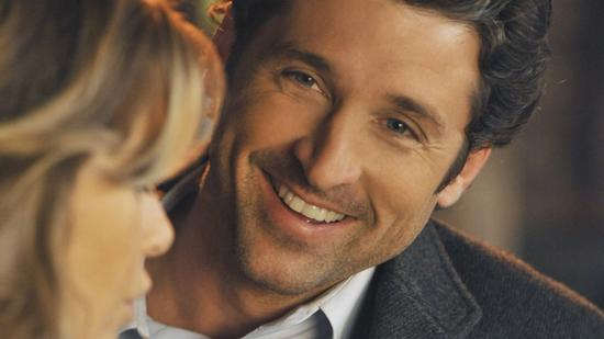 love, happy, derek shepherd, meredith grey, grey's anatomy, smile, relationships, movies/tv