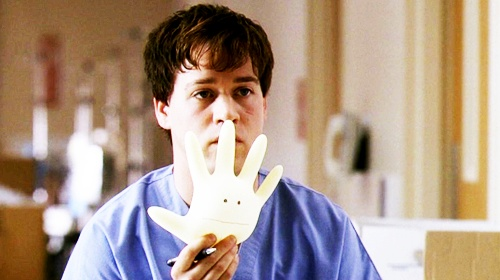 movies/tv, george omalley, funny, doctor, hospital, grey's anatomy