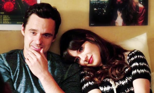 movies/tv, relationships, nick and jess, couple, love, romance, cute, new girl