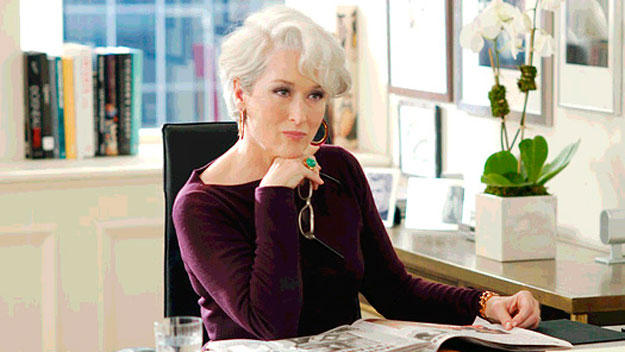 meryl streep, the devil wears prada, boss, mean, fashion