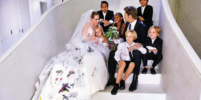 jolie pitt, wedding, angelina jolie, bradpitt, family, celebs, movies/tv