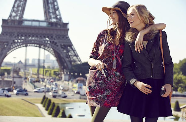 paris, girls, Friends, eiffel tower, travel, friendship