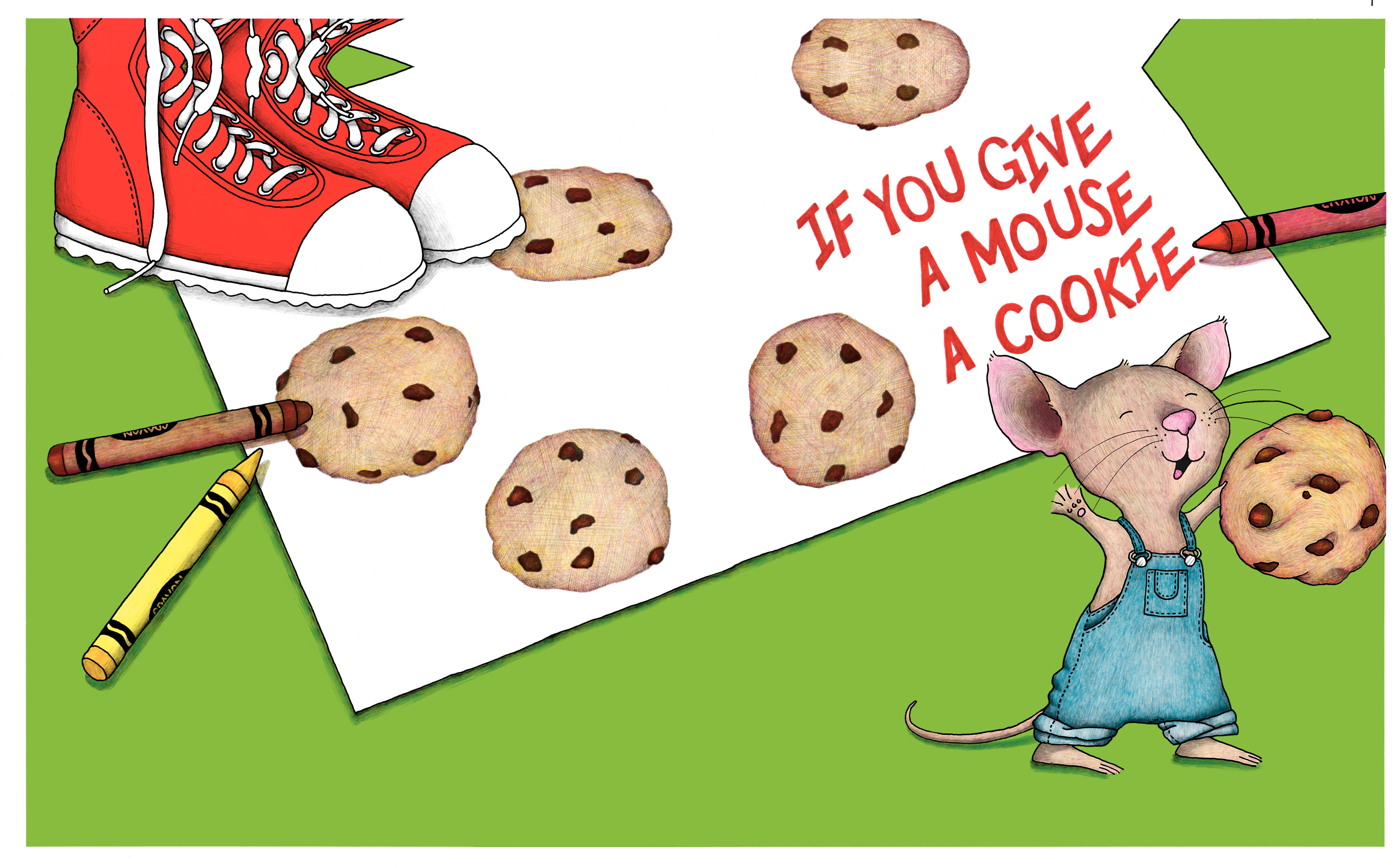 if you give a mouse a cookie, books