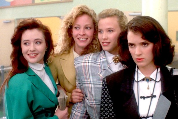 heathers, winona ryder, movies/tv
