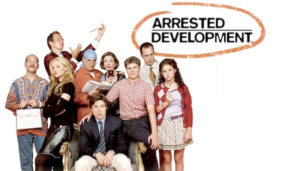 arrested development, movies/tv