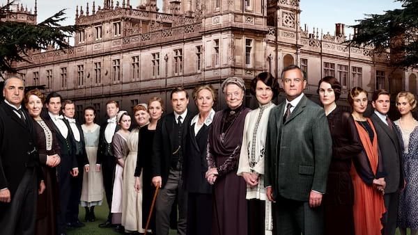 downtown abbey, movies/tv