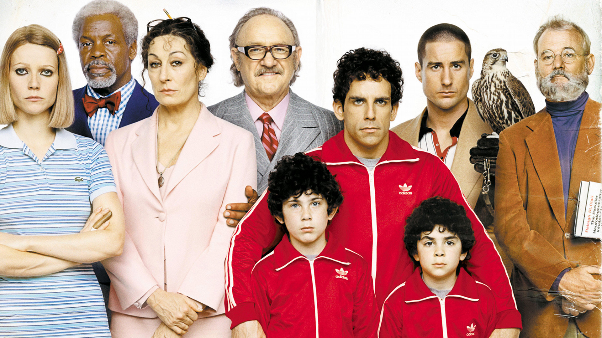 the royal tenenbaums, movies/tv