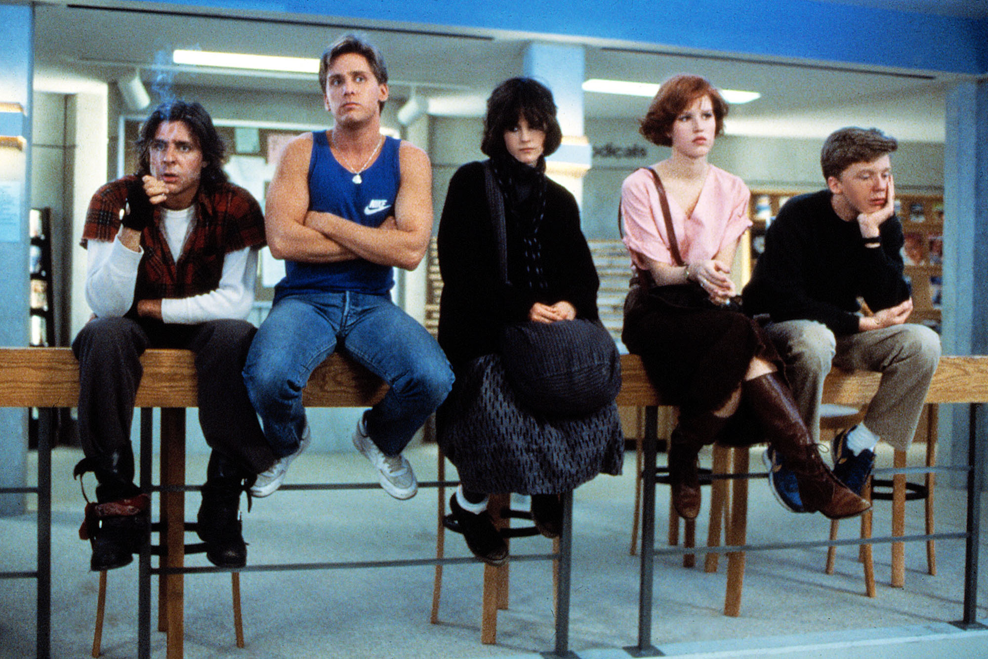 the breakfast club, movies/tv