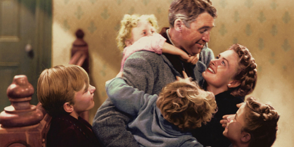 It's a Wonderful Life, Movie Classics, classic movies, Jimmy Stewart, holidays, christmas, Christmas Movies, Holiday Movies, movies/tv, family
