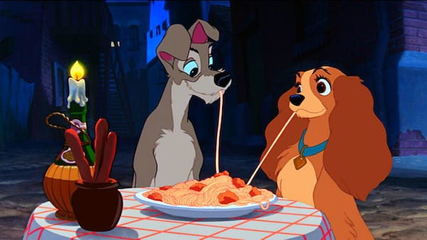 lady and the tramp, movies/tv
