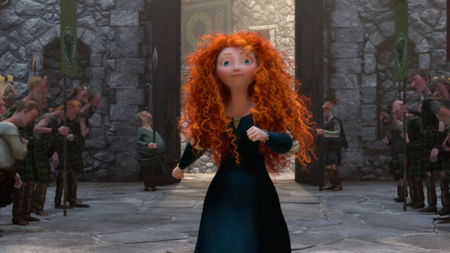 brave, merida, pixar, Disney princess, Disney