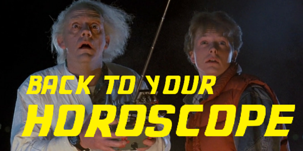 back to the future, horoscope