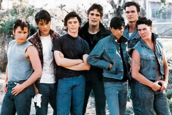 the outsiders, movies/tv
