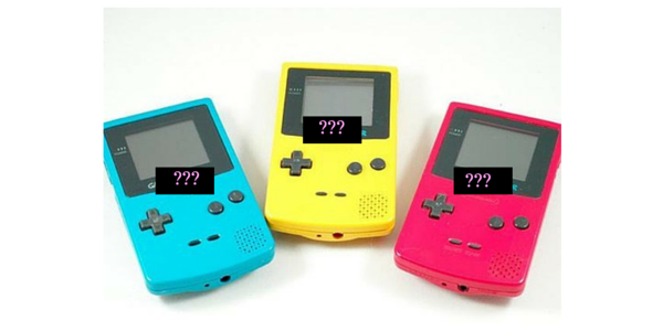gameboy color, 90s toys