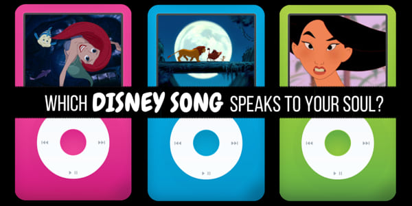which disney song speaks to your soul