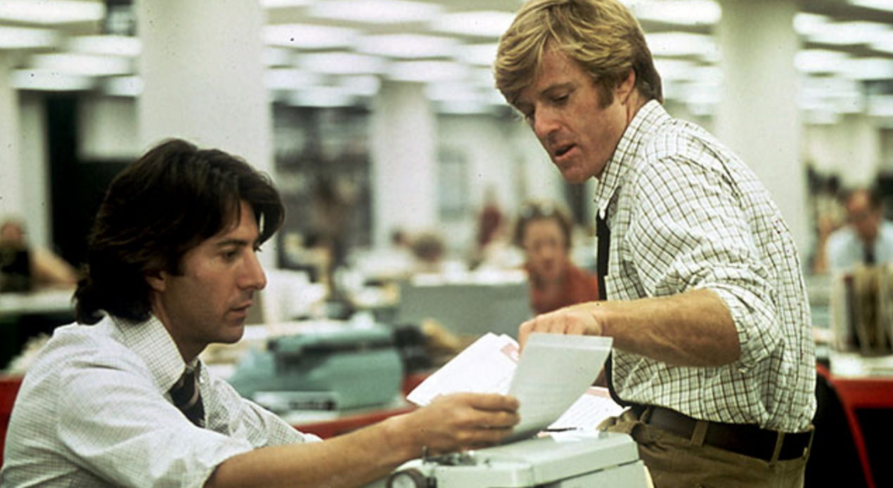 All The President's Men, movies/tv