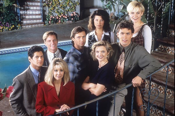 Melrose Place, 90s, movies/tv