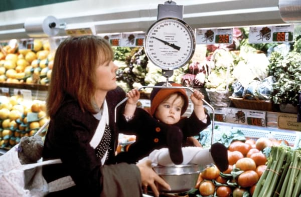 baby boom, Diane Keaton, apples, baby, small town, movies/tv