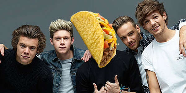 one direction, taco