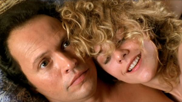 When Harry Met Sally, movies, Meg Ryan, bed, sleeping, talking on phone