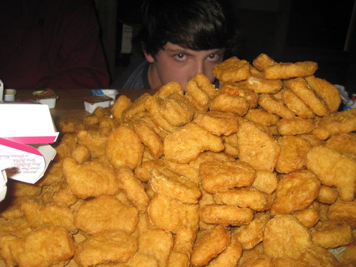 chicken nuggets, food & drinks