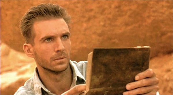 english patient, intense, reading, judging, movies/tv