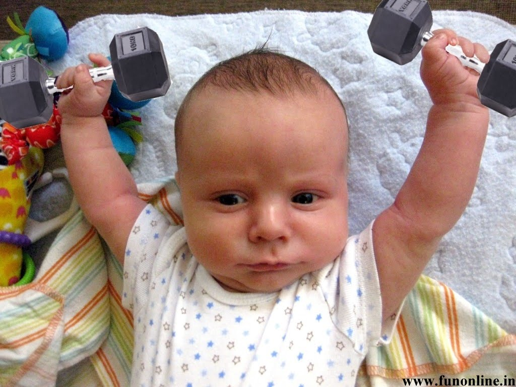 happy baby, strong, baby, home, fitness, family