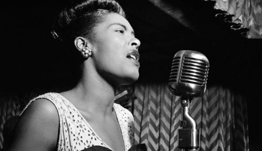 Billie Holiday, history, singer, celebs, pop culture