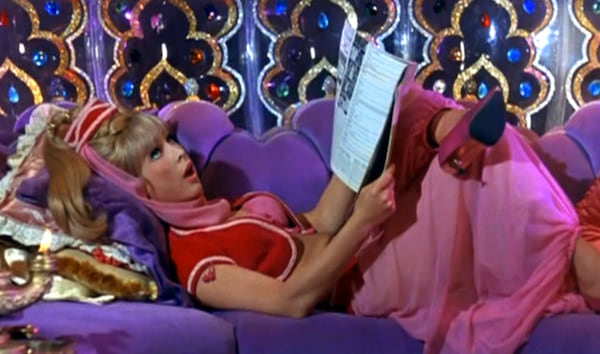 I Dream of Jeannie, pop culture, movies/tv