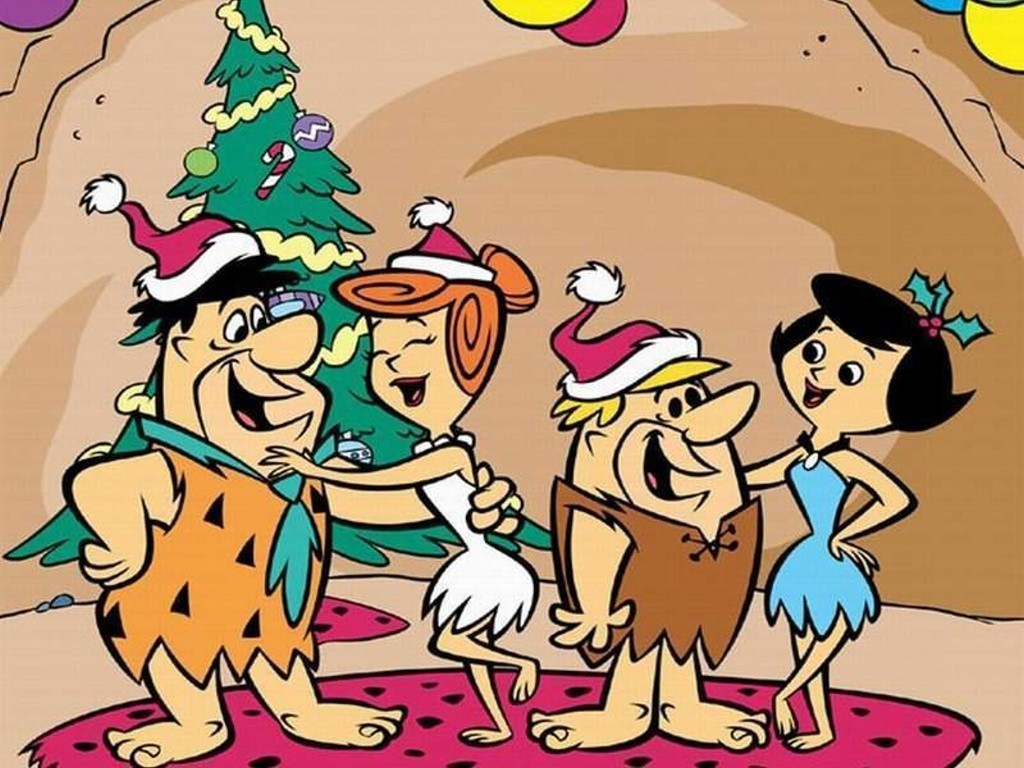 Flintstones, christmas, movies/tv