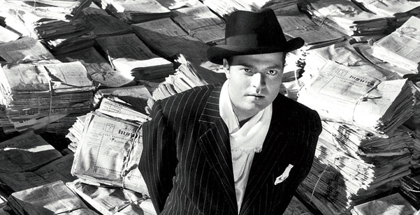 Citizen Kane, Oreson Wells, classic films, movies, movies/tv