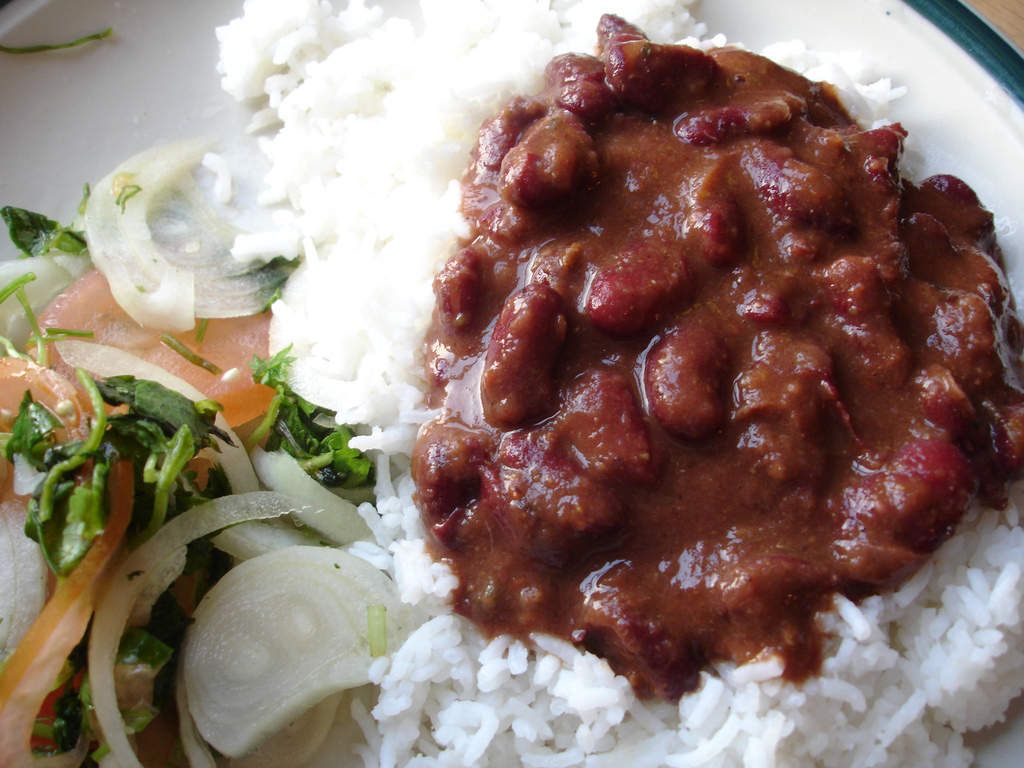 rice and beans, food, beans, food & drinks