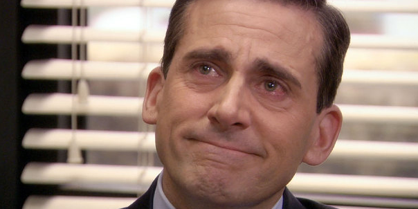 the office, crying, happy tears, movies/tv