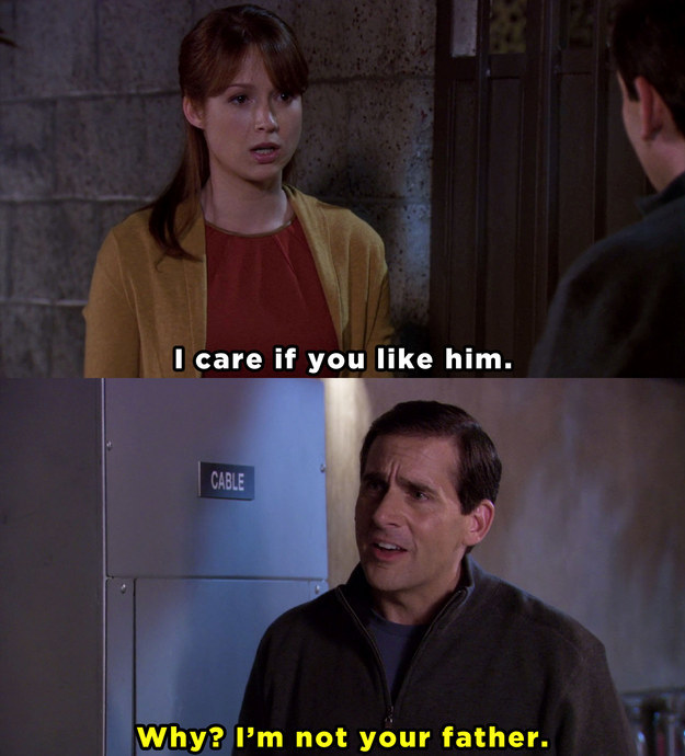 the office, Erin, Michael, movies/tv