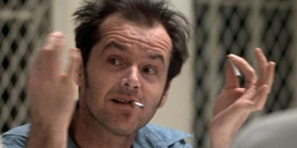 On Flew Over the Cuckoo's Nest, movies/tv