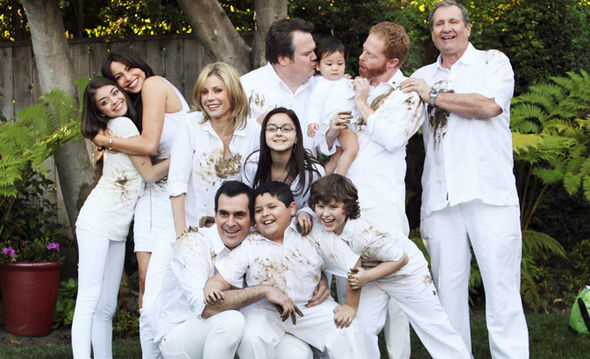 modern family, movies/tv