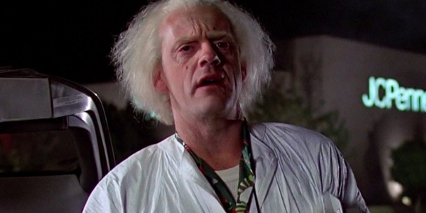 Doctor Emmet Brown, back to the future, movies/tv