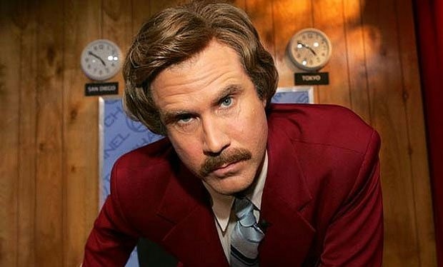 anchorman, will ferrell, movies/tv