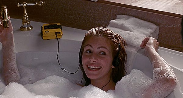 pretty woman, bath, julia roberts, movies/tv, celebs