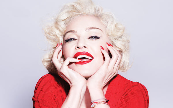 madonna, like a virgin, red, Music