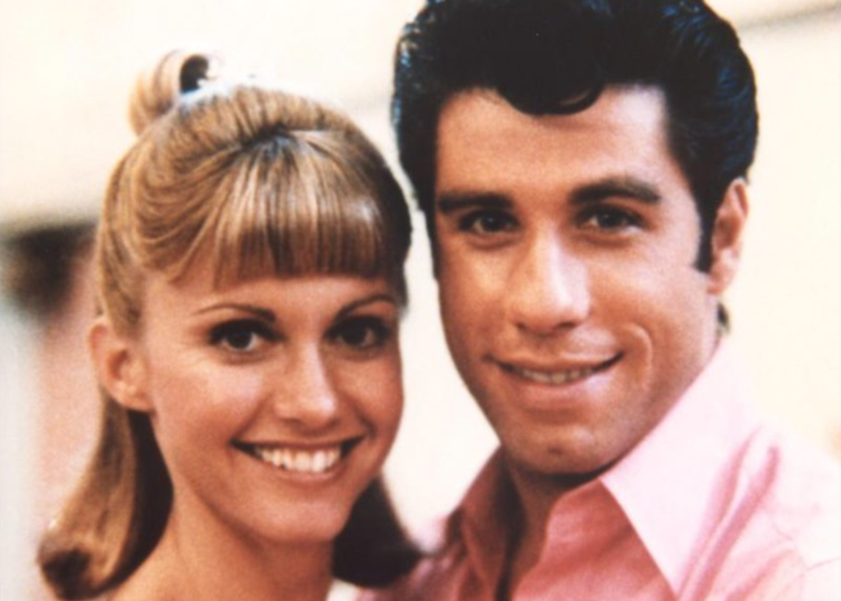 Sandy and Danny, grease, movies/tv
