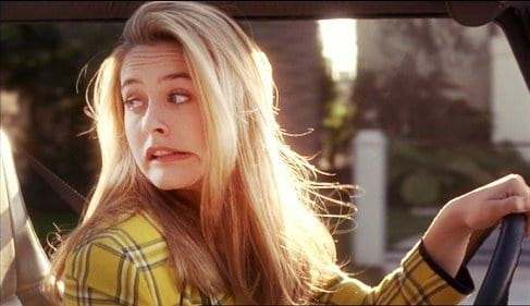 clueless, driver's test, cher, 90s movies, 90s, movies/tv