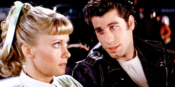 grease, john travolta, Olivia Newton-John, movies/tv