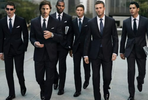 Guys in suits