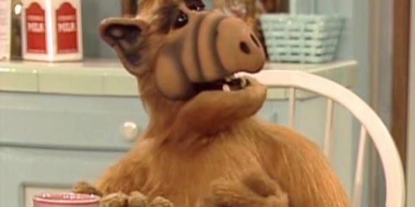 ALF, sitcom, ALIEN, tv show, 80s, 90s, movies/tv