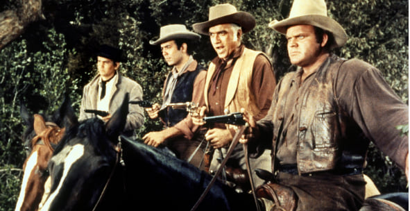 Bonanza, 60s, 70s, Westerns, movies/tv