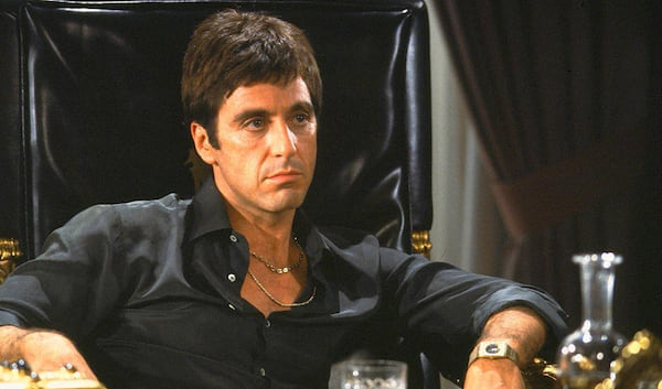 Scarface, Michelle Pfeiffer, Al Pacino, gangsters