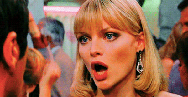 Scarface, Michelle Pfeiffer, movies/tv